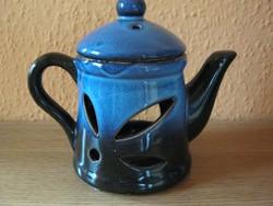 Kerámia teáskanna mécsestartó