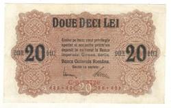 20 lei 1917 Románia I.