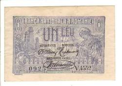 1 lei 1920 Románia aUNC