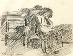 Vaszary János : Szobabelső c. aukcionált alkotása