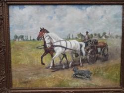 Némethy festmény