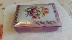 Bonbonier eladó! Porcelán festett doboz eladó!