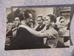 Képeslap,Pápay Erzsi és Suranyi Imré, 1950