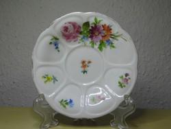 Alt Wien antik bécsi porcelán csészealj 1857 biedermeier korszak hibátlan állapotban