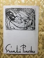 Szántó Piroska kiállítási katalógus (1978) aláírt