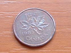 KANADA 1 CENT 1983