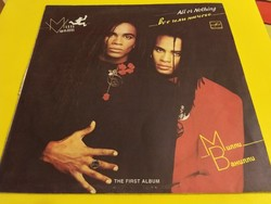 ​Milli Vanilli ‎– All Or Nothing 1991.2500.-Ft