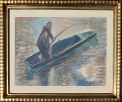 Cs. Pataj Mihály: Halász a vizen