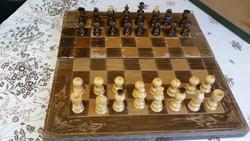 Antik fatáblás sakk eladó!