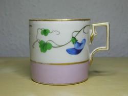 Alt Wien antik bécsi porcelán csésze 1807 körül