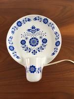 Retro, vintage Drasche porcelán fali lámpa