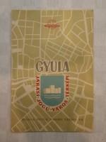 Gyula térkép 1964