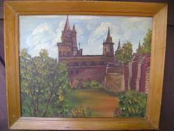 EREDETI FESTMÉNY Madách Pál olaj vászon festmény