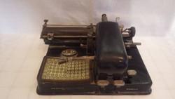 AEG régi írógép felújításra , vagy alkatrésznek