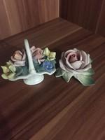 ENS porcelán virágok!!