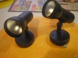 N18 Régi 3 db  Német  spot égős forgatható falikarok festmény,műhely stb világításához 3 db egyben