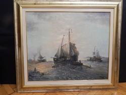 Czinege Zsolt: Kikötőben