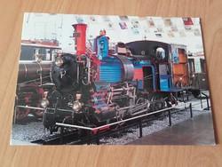Fogaskerekes mozdony 1909  Zahnradlokomotive der Brünigbah  1909 KÖZLEKE0DÉSI FOTÓ ,KÉPESLAP