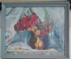 Oravecz Imre: Rózsacsendélet