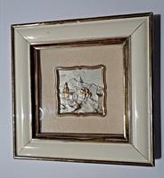 925-ös aranyozott ezüst kép keretben
