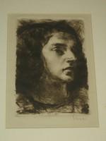 Varga Nándor Lajos: Fiatal nő portréja