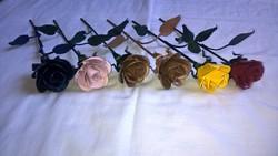 Kovácsoltvas rózsa csomag kézzel készített