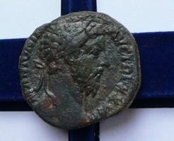 MARCUS AURELIUS SESTERTIUS JUPITER 17,5 g.