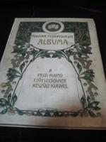 A magyar festő művészet albuma  / A Pesti Napló előfizetőinek / a 20 as évekből  24 x 31 cm