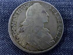 Ezüst justírozott bajor tallér 1768 /id1352/