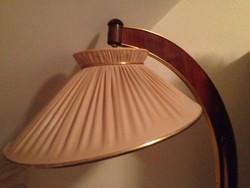 Állólámpa vitrinnel, NDK gyártmány, 50-es évekből