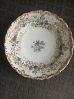 Antik, Bieder stílusú Elbogen tányér, 1839.