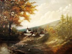 Eredeti Neogrády Antal festmény