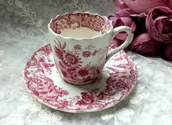 Antik Copeland May kávés csésze