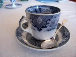 Antik Villeroy&Boch Wallerfangen teás/csokoládés csésze alátéttel