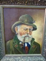 Prof. Friedrich (Fritz) Maximilian von Heider (1868-1947) - Portré