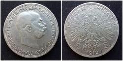 Ferenc József 2 Corona 1912