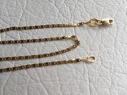 Arany 14K női,gyermek nyaklánc,teljesen új 40,5 cm,1,54 gr