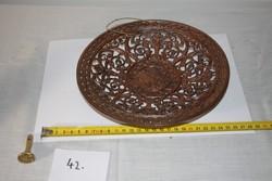 Öntöttvas tányér
