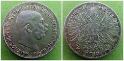 Ferenc József ezüst 2 korona 1912