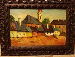 Slevenszky Lajos (1910 - 1975) nagybanyai festoiskola