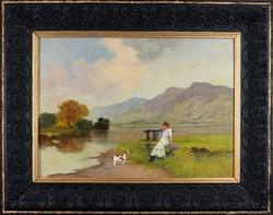 Neogrády Antal - Hölgy kutyával