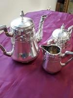 3 db-os ezüst teáskészlet