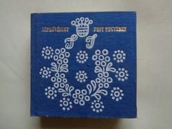Minikönyv Népművészet Pest megyében