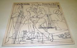 Bakelit hanglemez. Gershwin: Egy amerikai párizsban