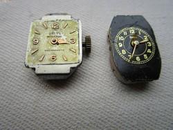 BEHA ÉS ORLUX 2 darab óraszerkezet számlappal működő mechanikus  órASZERKEZET ... 9b86a9f62b