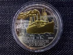 Ausztria 20 euro ''Handelsmarine '' 2006