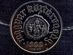 Pannonhalma ezüst 1000 Forint 1996 /5025/