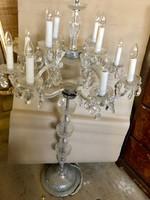 Kristály álló lámpa