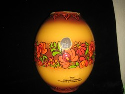Zománc váza  1988  /Ema -Lion   Bonyhádi Zománcgyár  /