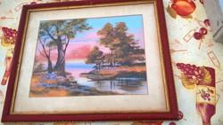 Szép régi festmény